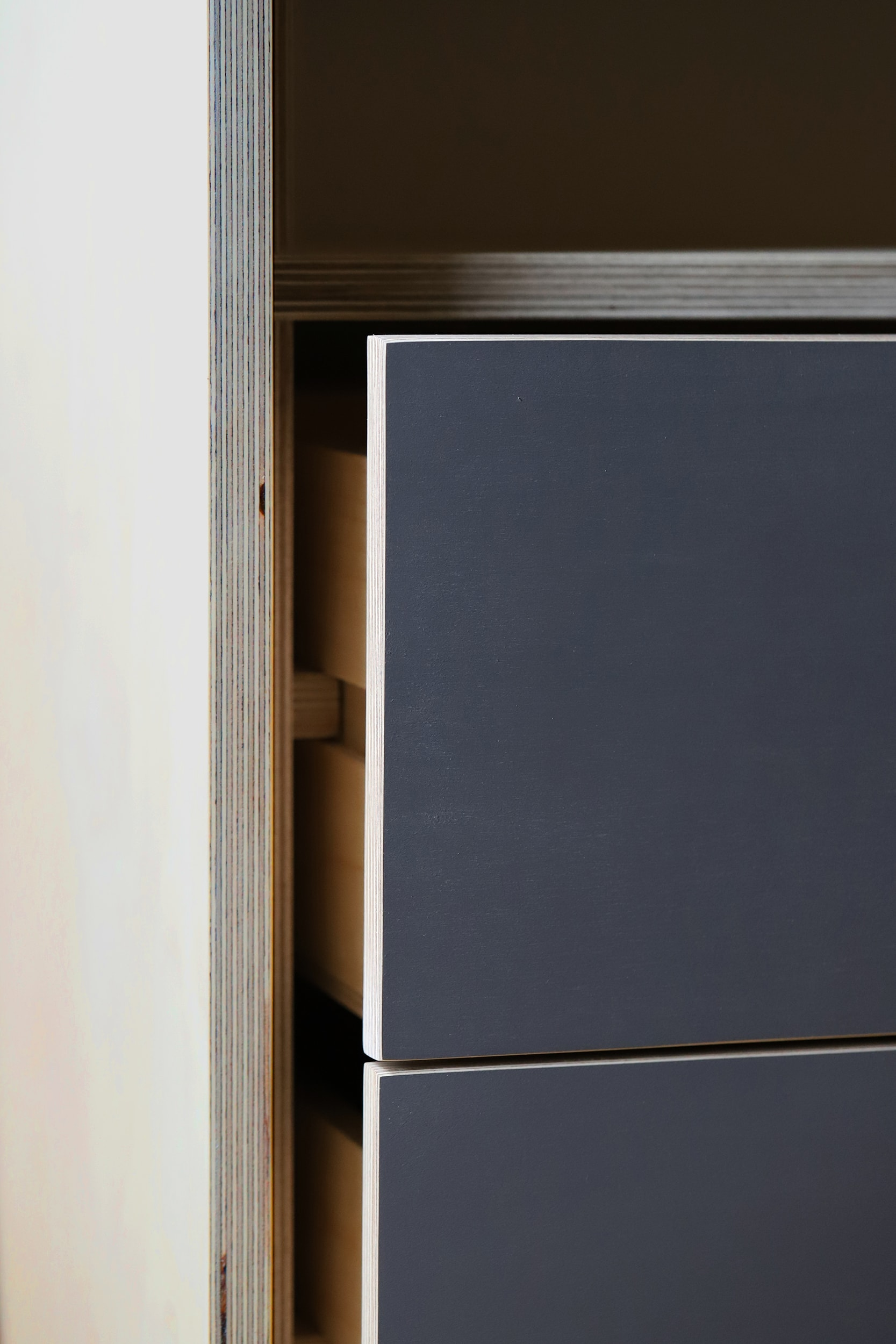 Each drawer comes with durable plywood runners.