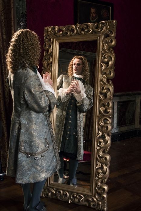 Will the Chevalier (Evan Williams) – lover of the King's brother, Philippe - be allowed to return home?
