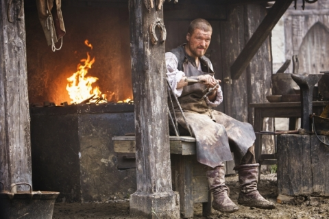 James Read (Matt Stokoe) is Jamestown's blacksmith, known for his integrity, with a soft spot for Alice.