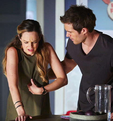 Tori is rushed to hospital after Zannis poisons the Morgans' drinking water!