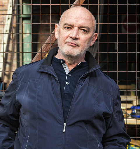 Phelan starts digging a hole in the garden after visiting imprisoned Andy!