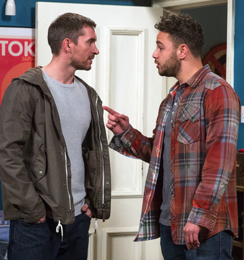 Adam suspects Ross has framed him after he's arrested for Emma's murder