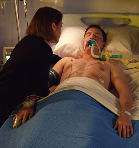 Daniel's stabbed after he confronts the hoodies harassing him and Zara!