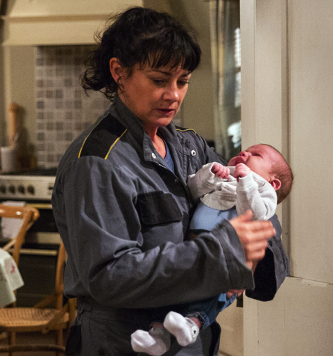 Will Moira and Cain face up to their responsibilities with baby Isaac?