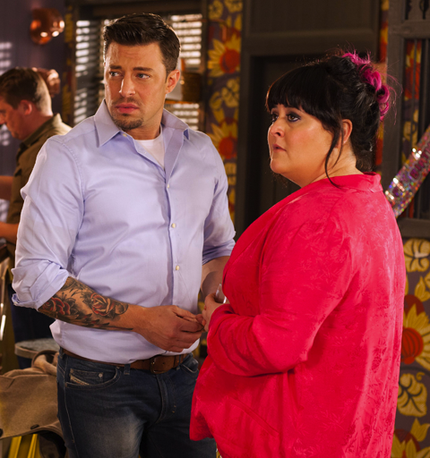 James is suspicious after Ryan goes public about his relationship with Tegan