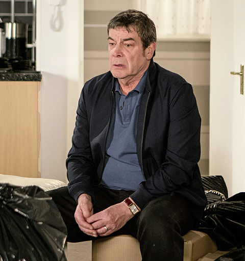 Johnny makes a shocking discovery at Aidan's flat
