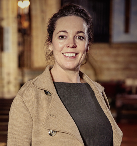Olivia Colman is amazed to discover her exotic family roots