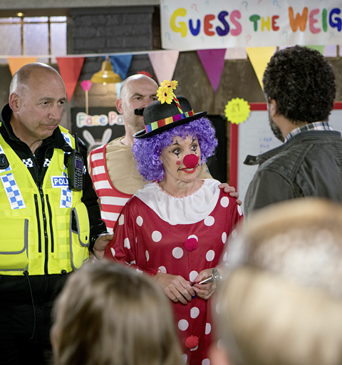 Sally is arrested at the Speed Daal family day!