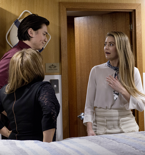 Chloe discovers Terese and Leo's secret
