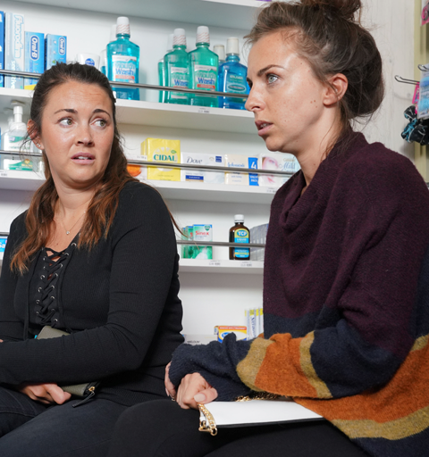 Ruby tells Stacey she was raped…