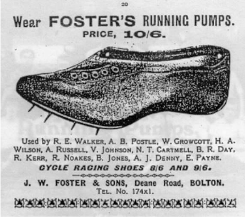 An early ad depicting the revolutionary shoe, it is easy to see why they were in such high demand.