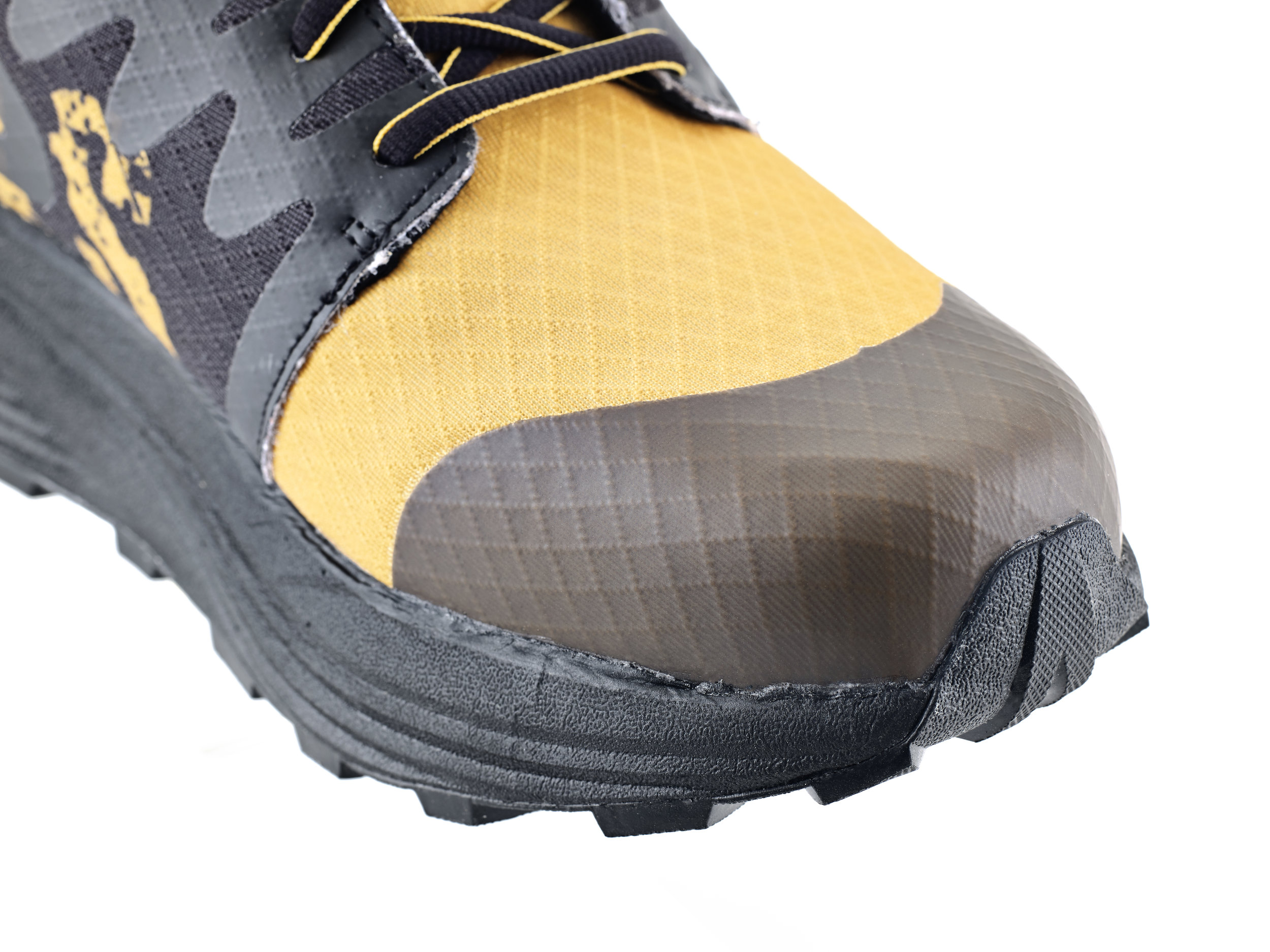 Space in the toe area for orthotics and the TPU overlay protects your toes.