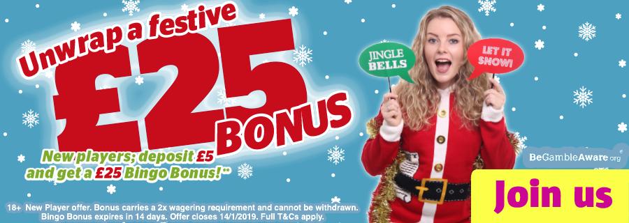 EXCLUSIVE: Enter Bonus code WONDER before you deposit to get a £1 WINTRY WONDERLAND scratch card