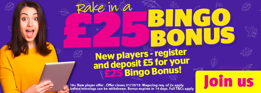 Enter bonus code  WHICH  for an extra £1 Fluffy Favourites Bingo Bonus (new player offer).