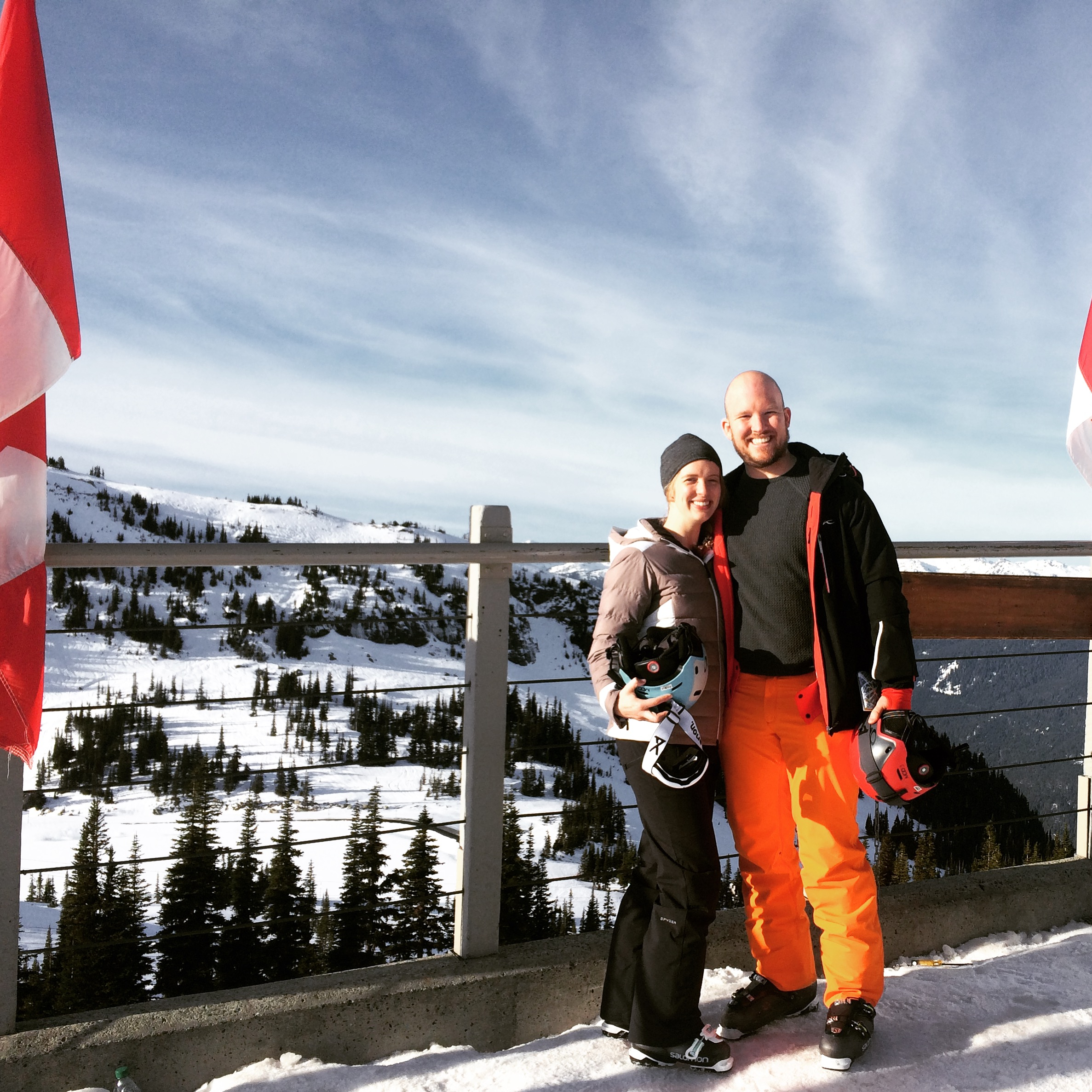Clare and I in Whistler for my birthday.