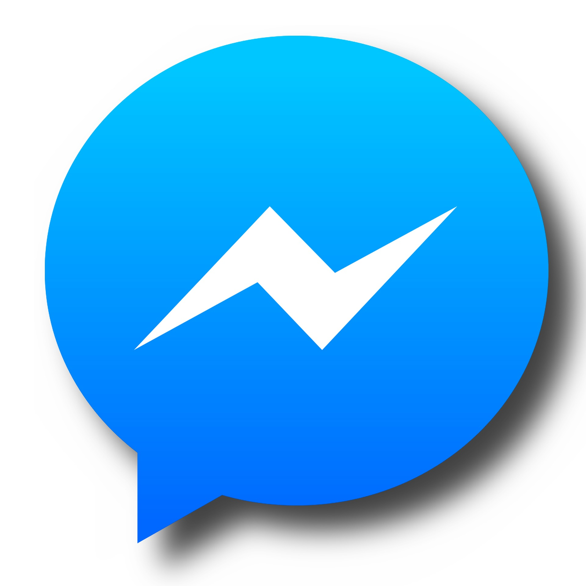 Click Messenger icon to chat