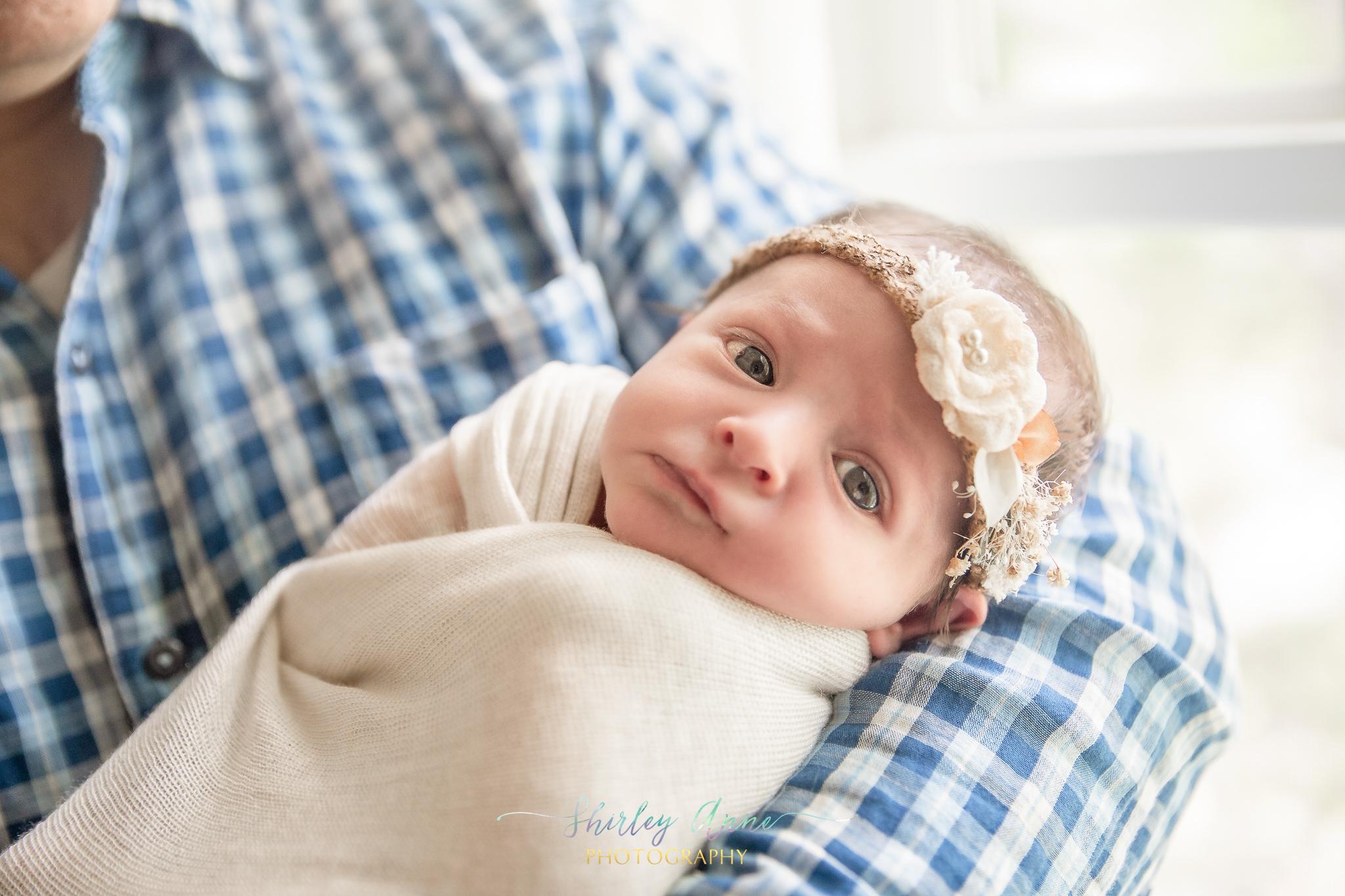 newborn baby in home needham
