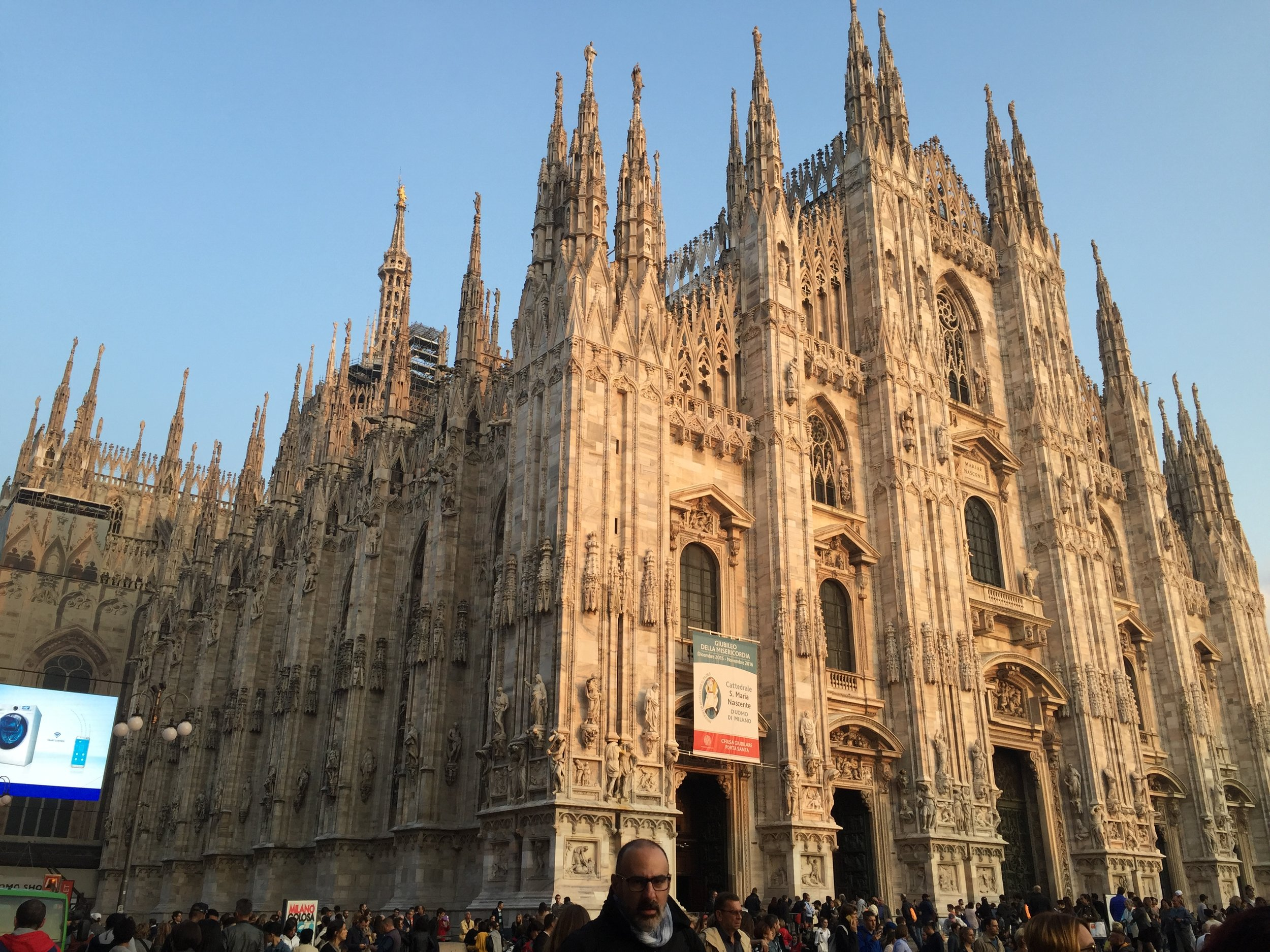 The awesome architecture of the Duomo, a fifteen minute walk from God Save the Food