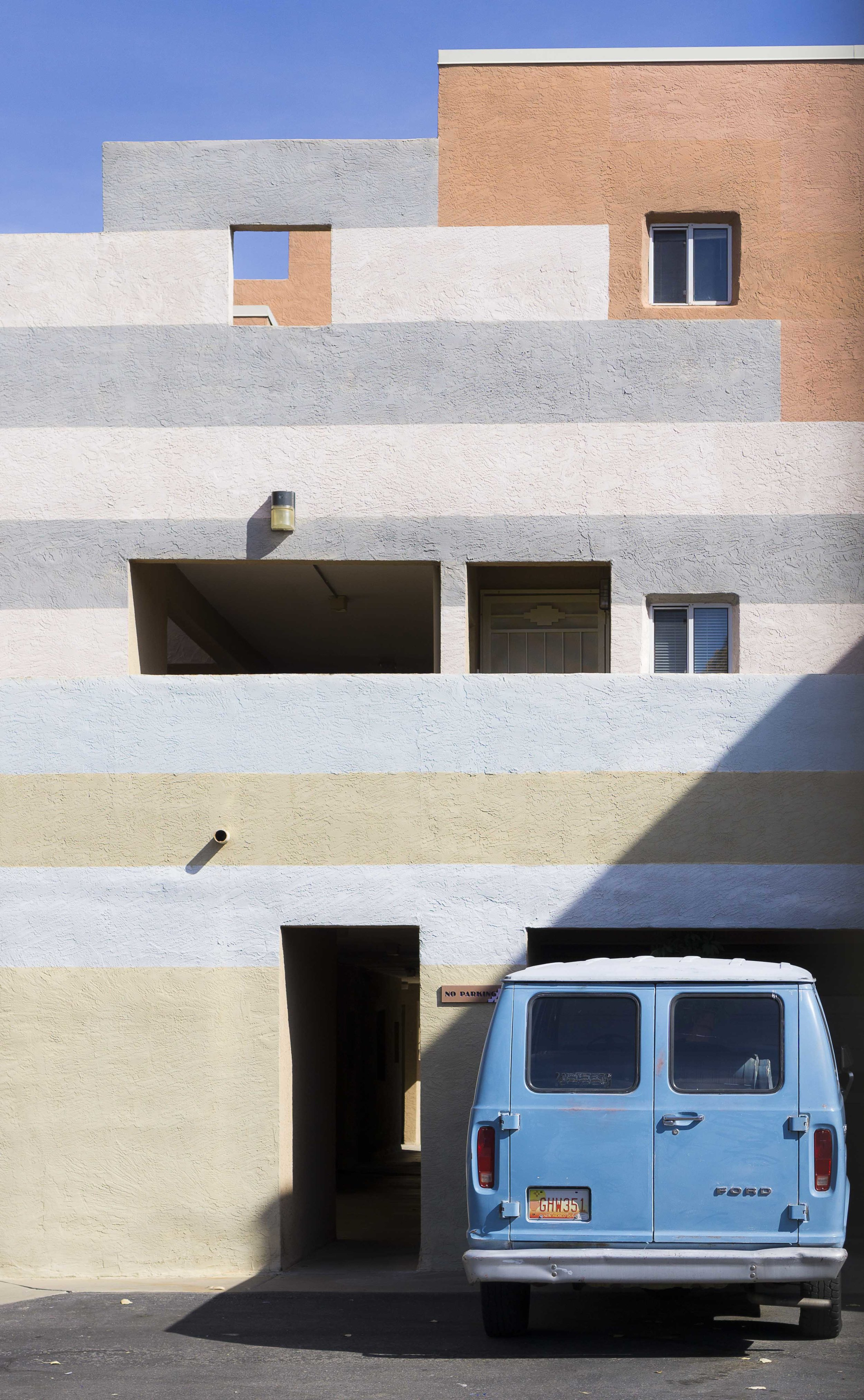 Blue Van photo