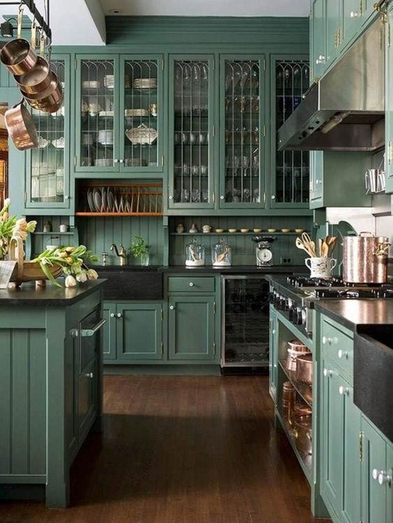 See the rest of our drop dead kitchens.