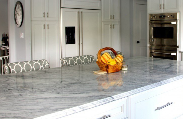 This quartzite counter has a distinct look
