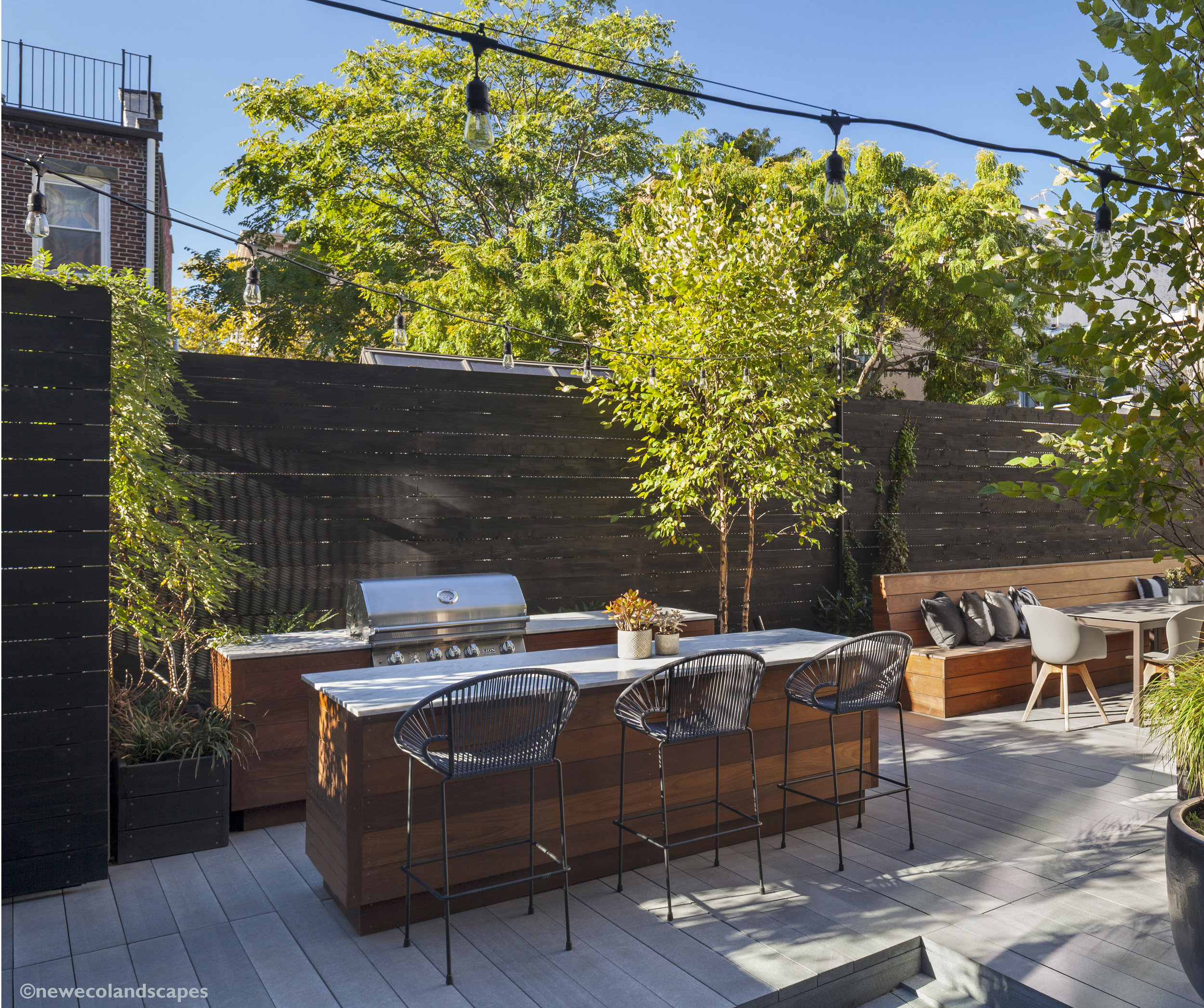 Outdoor space is a sought after amenity in Philadelphia.