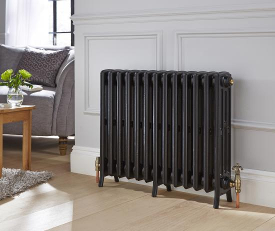 This new radiator was sourced to match older existing ones.