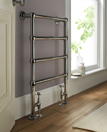Why use a radiator in the bathroom when you can have a towel warmer?