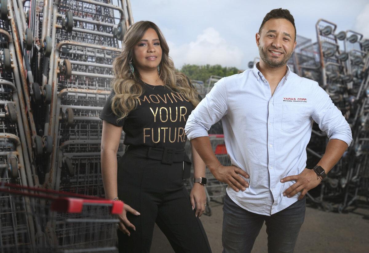 Saray Lopez, VP, y Roberto Fuenmayor, presidente de Yaras Corp. (Suministrada)