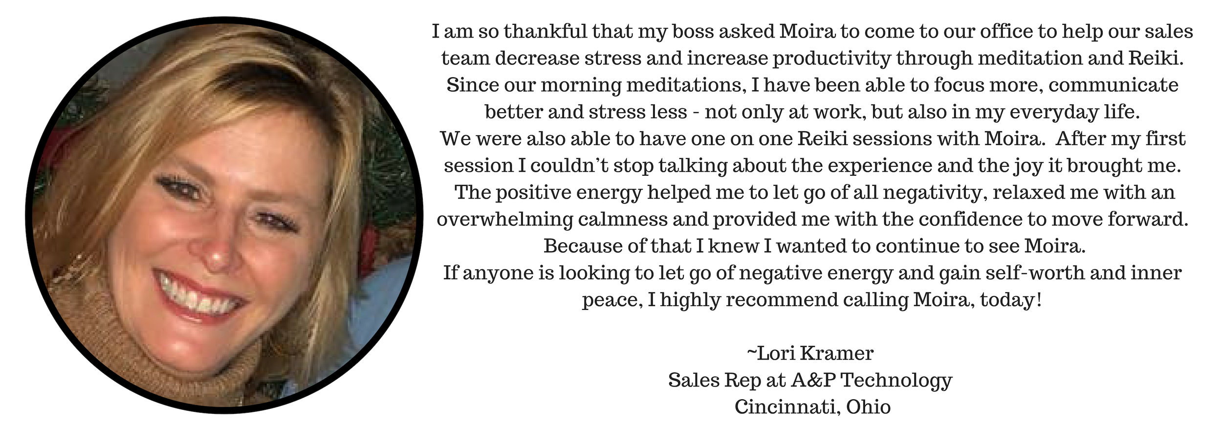I love working with Moira! She is a loving, caring and kind soul who really just wants to use all her gifts and skills to be able to help and support you and you can totally feel that. She takes her healing work seri-2.jpg