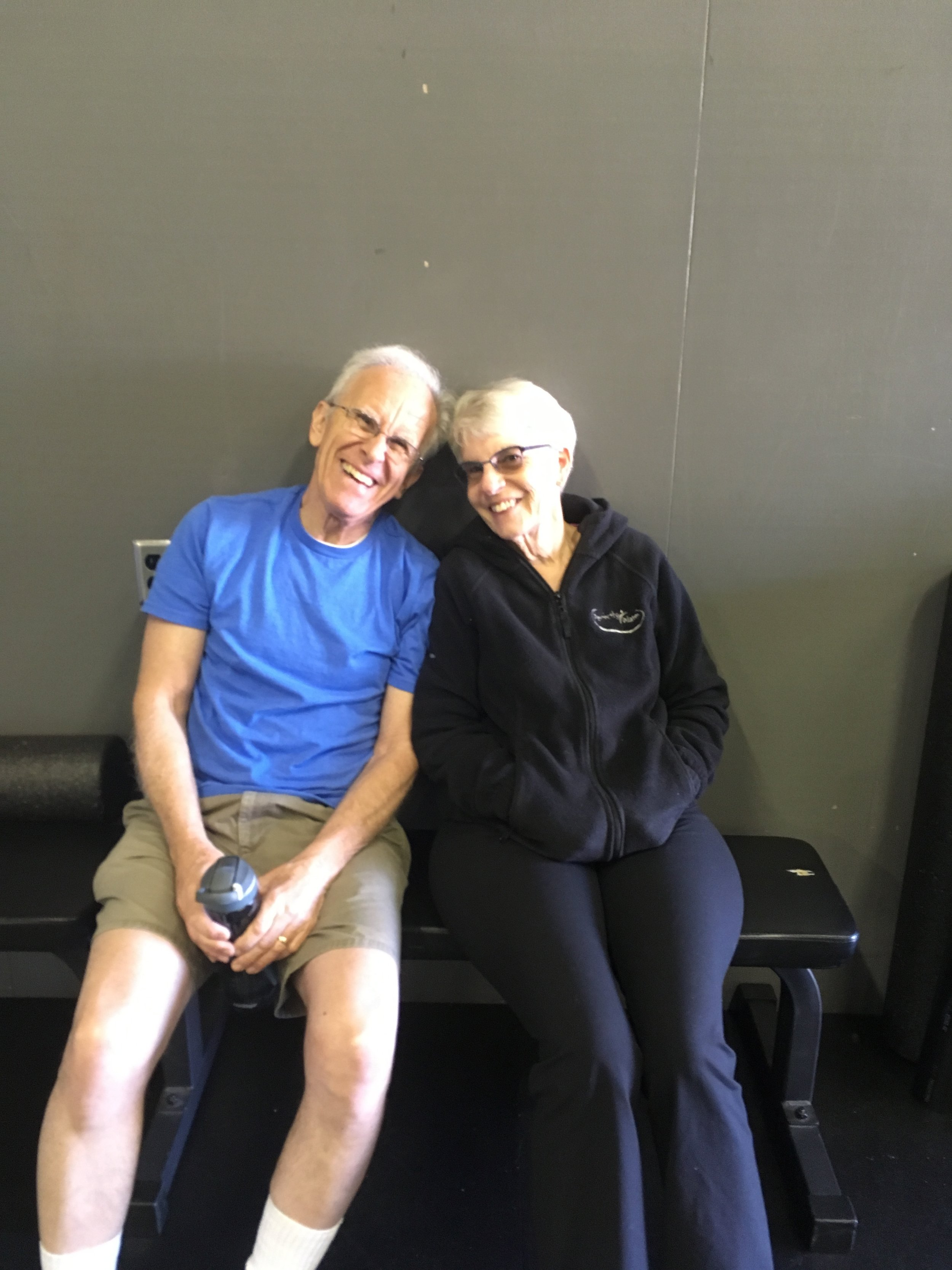 Bart and Karen (Married 51 years) always challenge themselves and have such a great attitude as well.