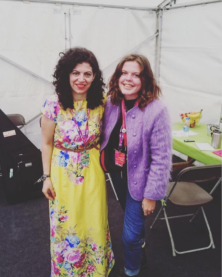 Maya Youssef and Sophie Darling   @ WOMAD Festival 2017, Ecotricity Stage 28.07.17