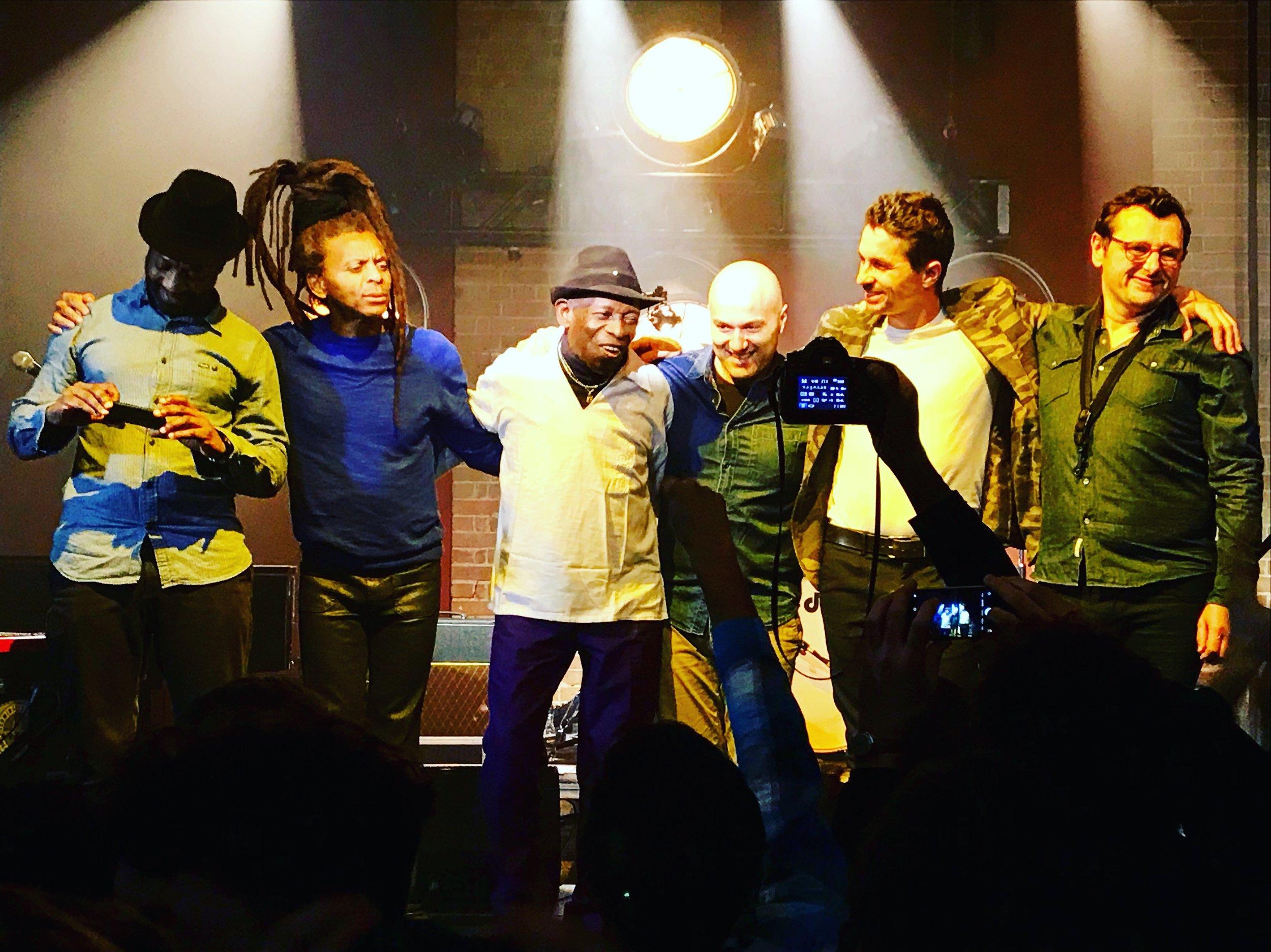 Tony Allen and Band  @ Village Underground 09.02.18  Photo by Matt Prev