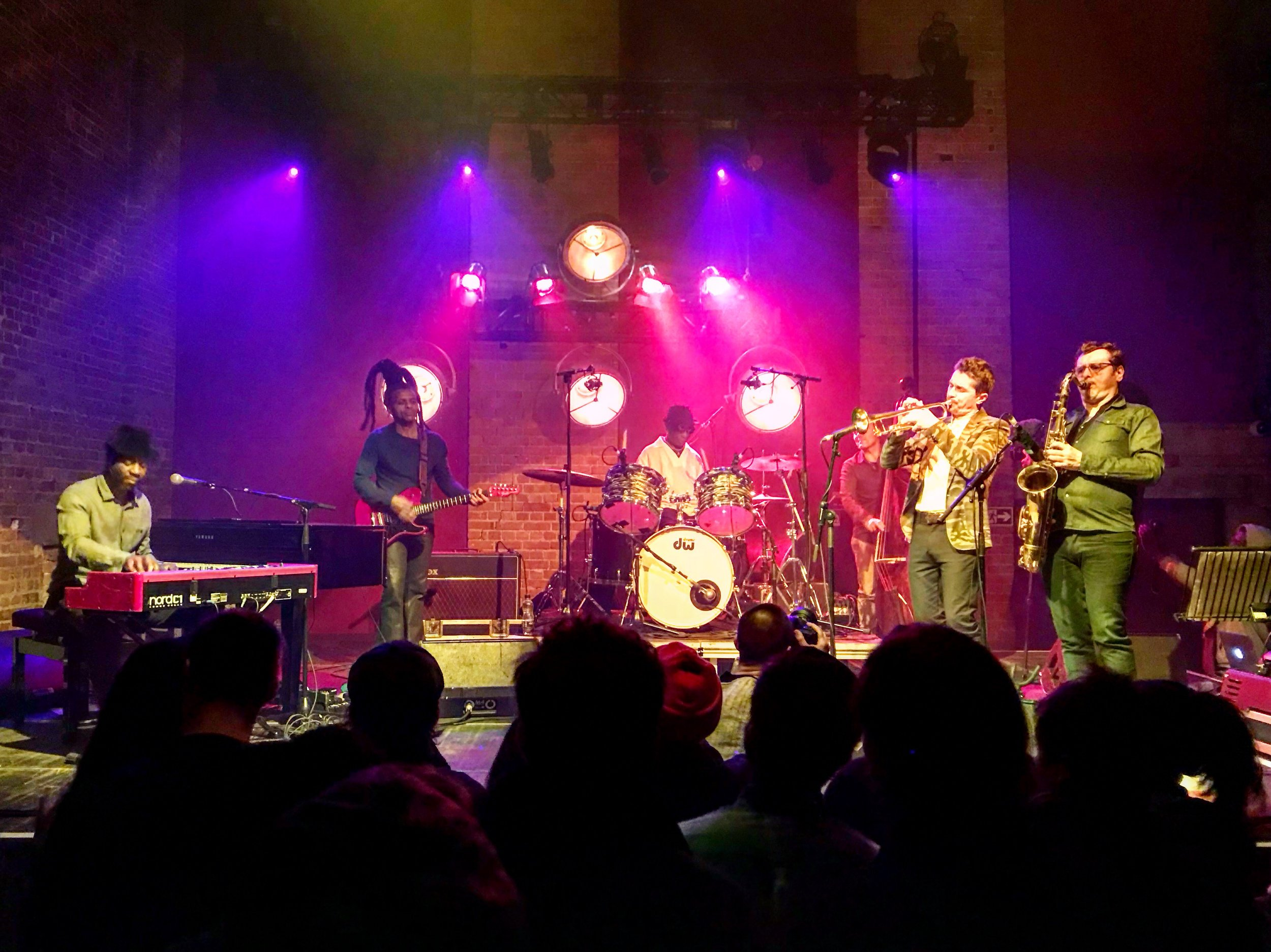 Tony Allen and Band  @ Village Underground 09.02.18  Photo by Sophie Darling