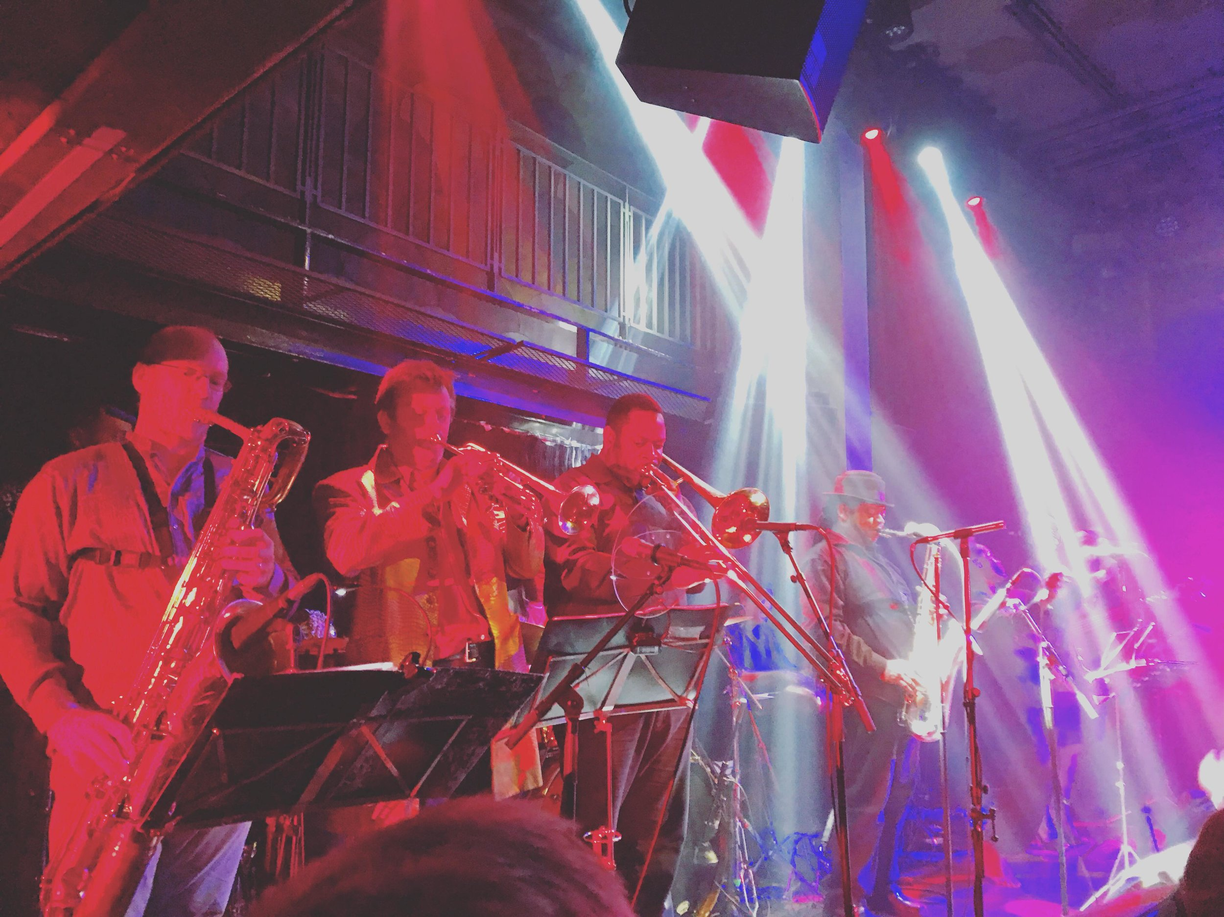 Bukky Leo and the Black Egypt live at the Jazz Cafe 19.03.18 .Photo by Sophie Darling.
