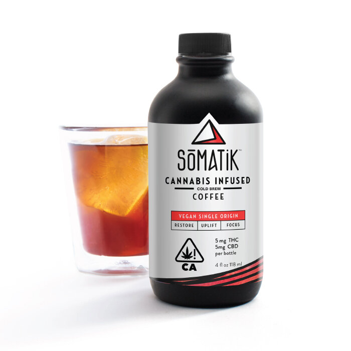 Somatik - Weed & Coffee: need I say more? I love to drink a Somatik and clean my entire house.Image via somatik.com