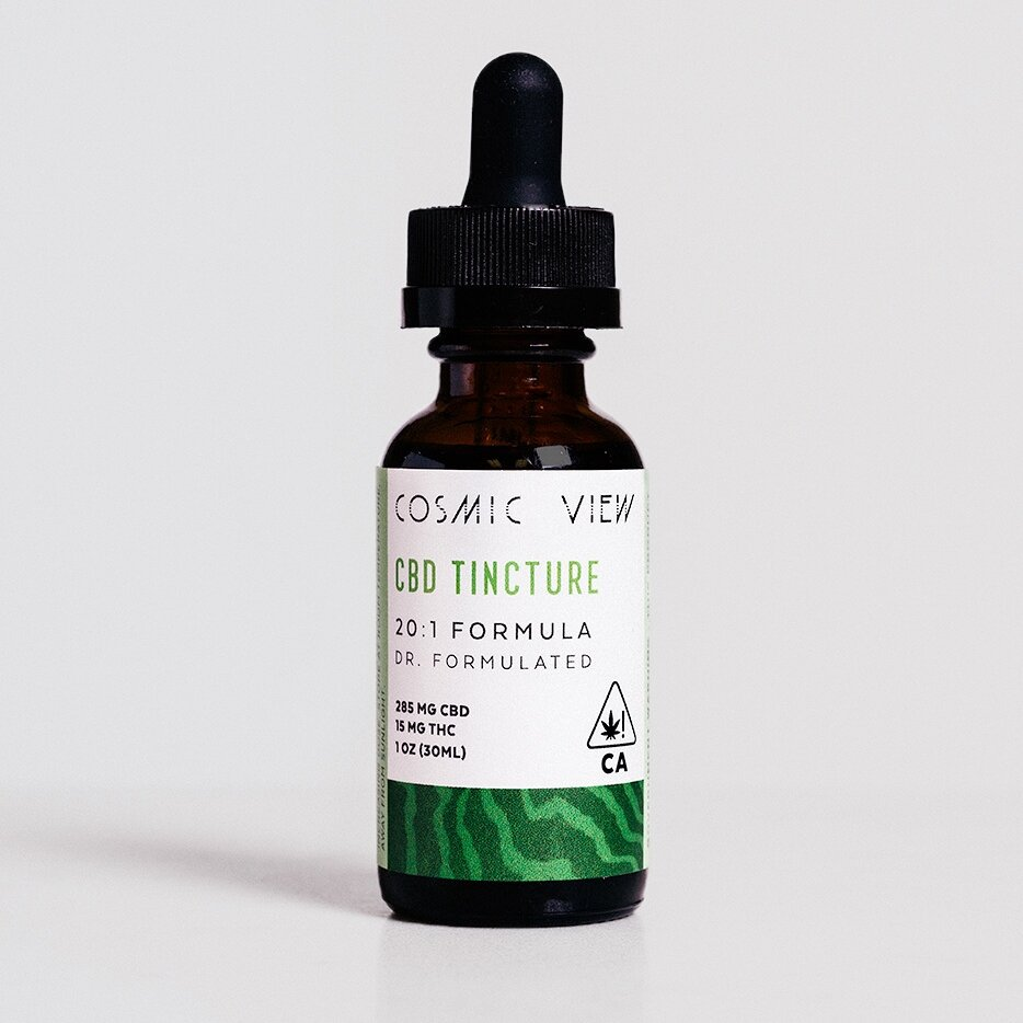 Cosmic View Tincture - This women-owned, mother-daughter team created a doctor-formulated line of tinctures. They are extremely strict about their sourcing and use olive oil from their own farm for these small-batch tinctures.Image via onalife.com