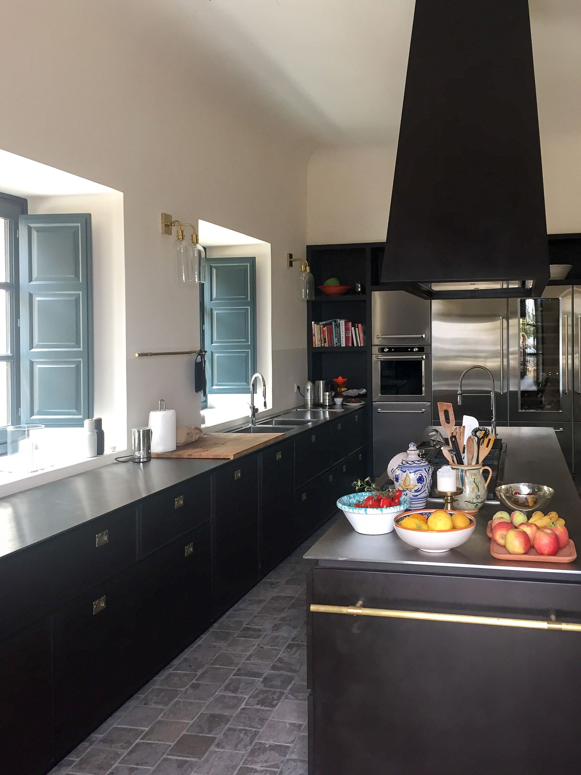 La Prora has a fully equipped professional kitchen