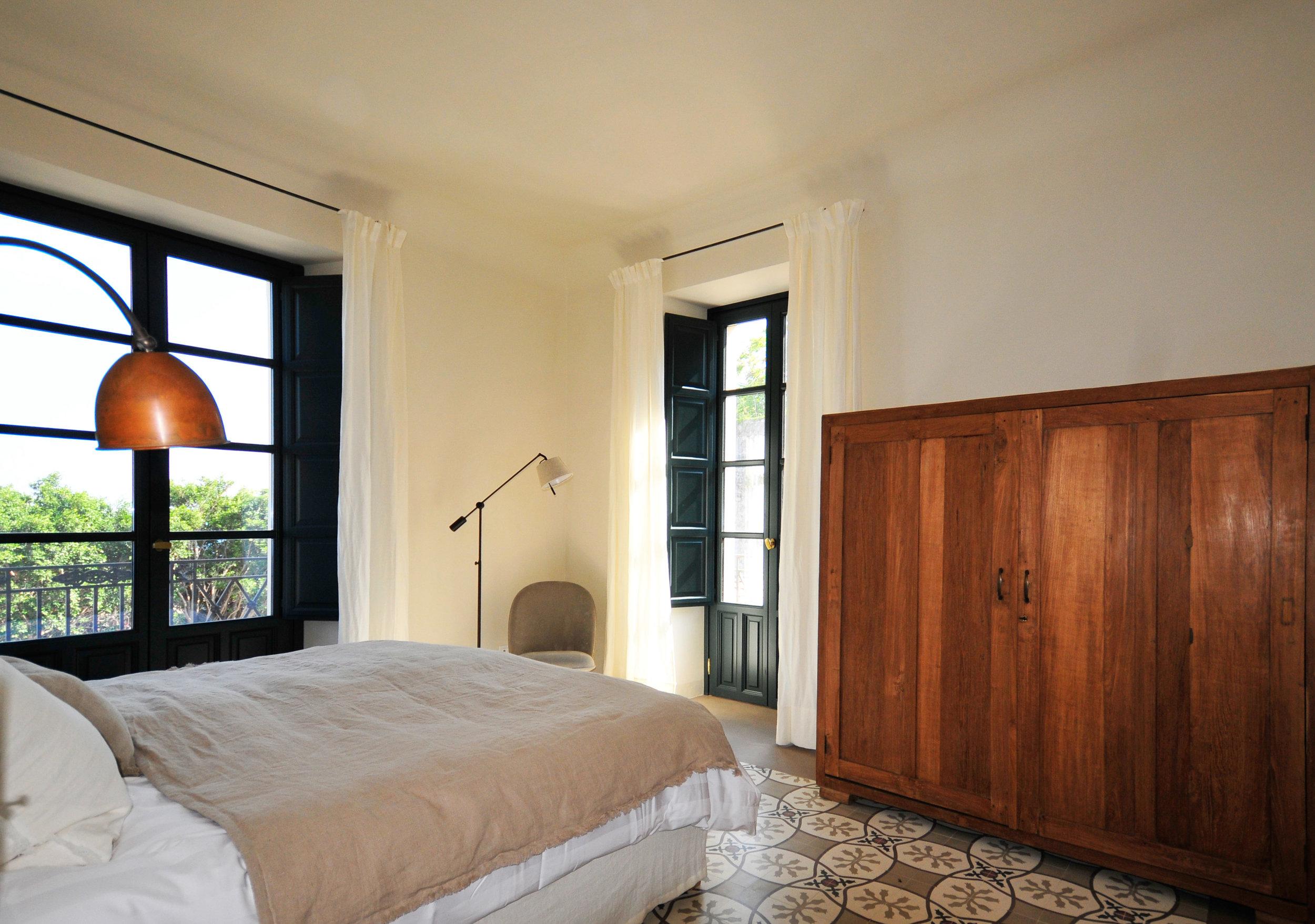 Bedroom Filicudi main house