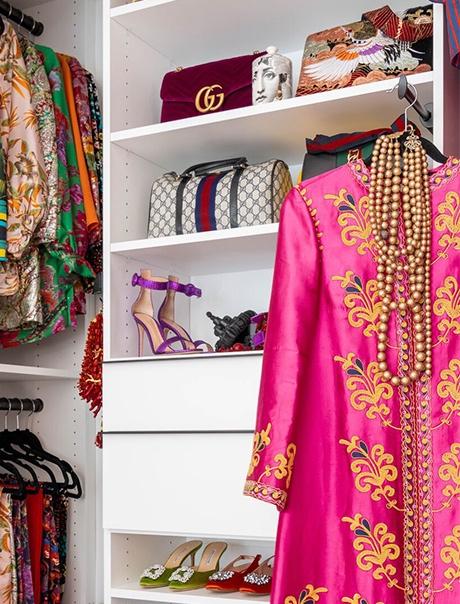 Wardrobe Ready for New York Publicist Christina Juarez  by California Closets