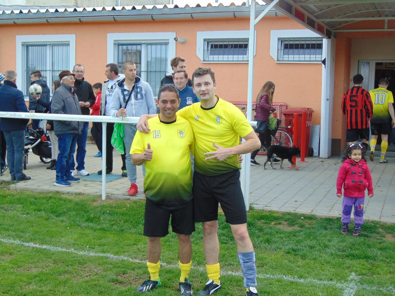 V. Herák 5 gólov a G.Makara 3 góly v zápase