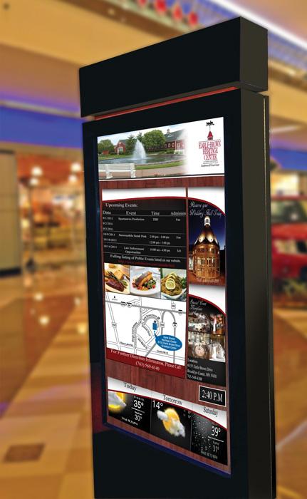 Digital Signage Restaurant