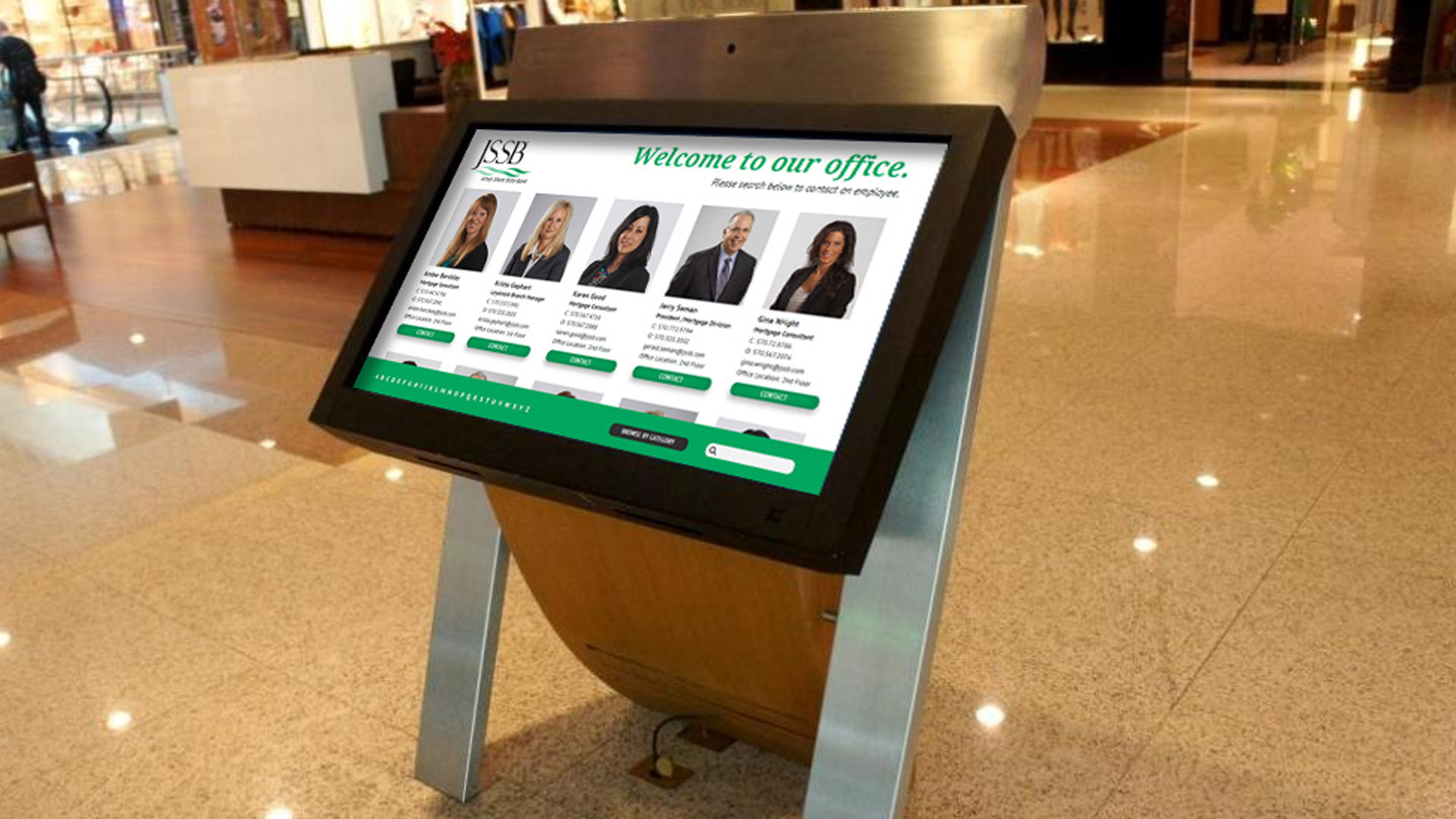 Digital Signage Office