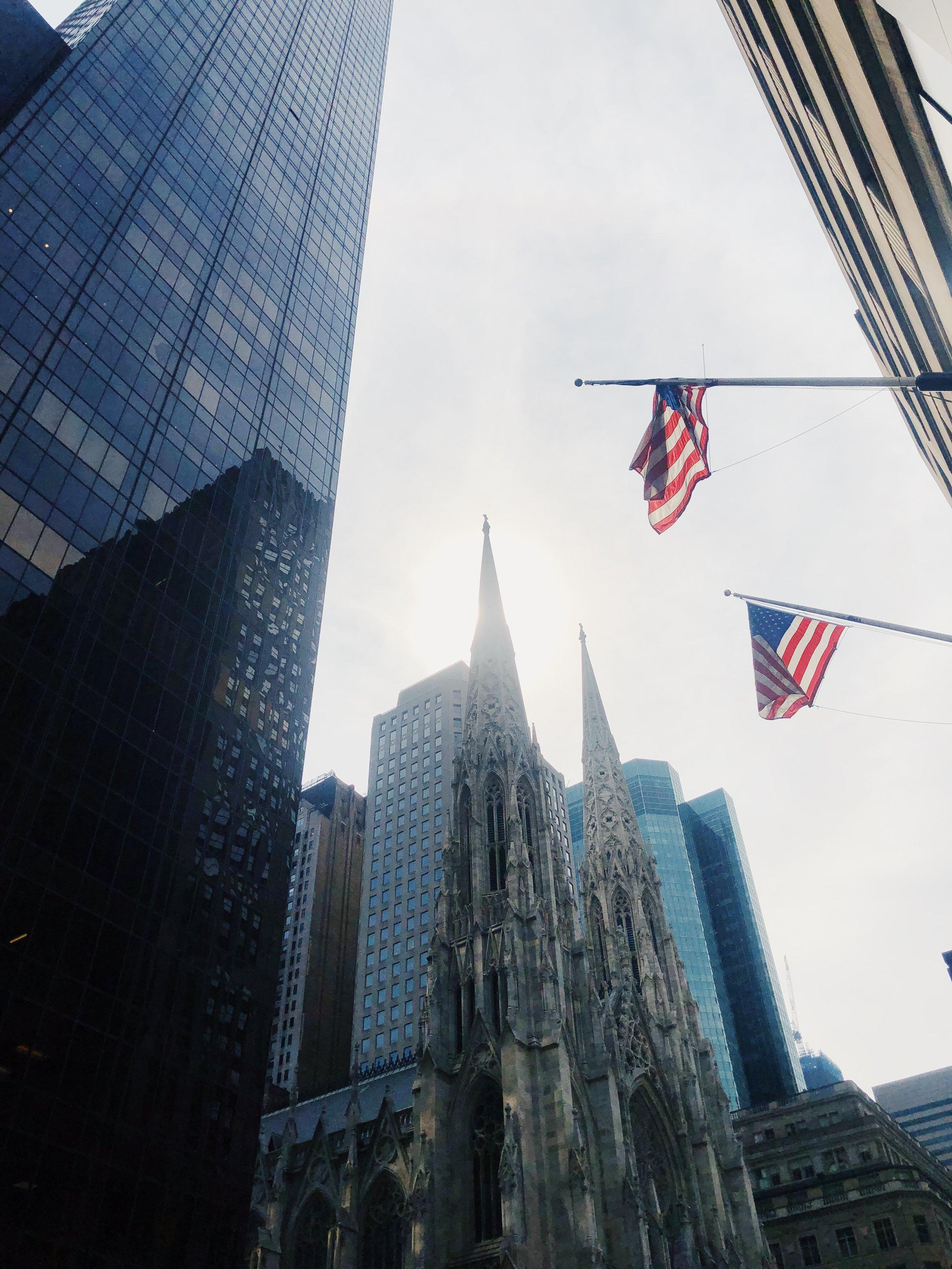Times Square, jossa konferenssi pidettiin.