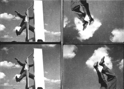 Stefan + Franciszka Themerson, frames from  The Adventure of a Good Citizen ,1937