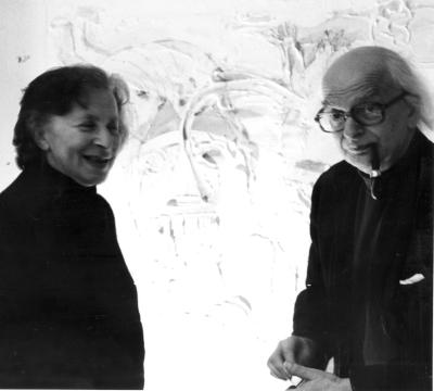 Franciszka and Stefan Themerson, 1977. photo Francois Lagarde