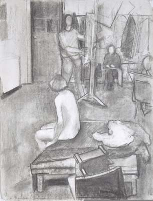 1978-Utermohlen-The-Studio-charcoal-on-paper-64-5x50-cm.jpg