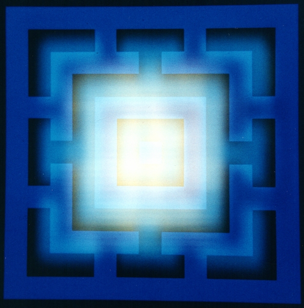 Dominic Boreham, Yantra, 1974, multiple light projection (2).jpg