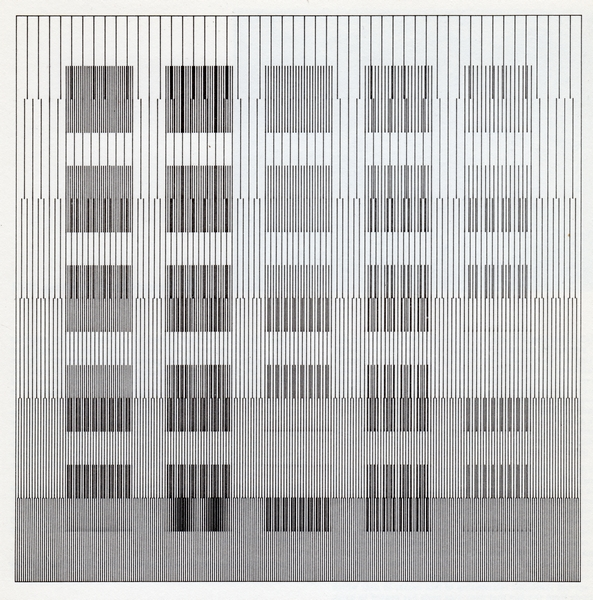 Dominic Boreham, Indeterminacy Grid IG74, 1979 computer-assisted drawin, ink on pape, 39.8 x 39.jpg