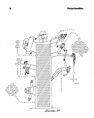 Themerson&Themerson, page from Semantic Divertissements, Gaberbocchus 1963
